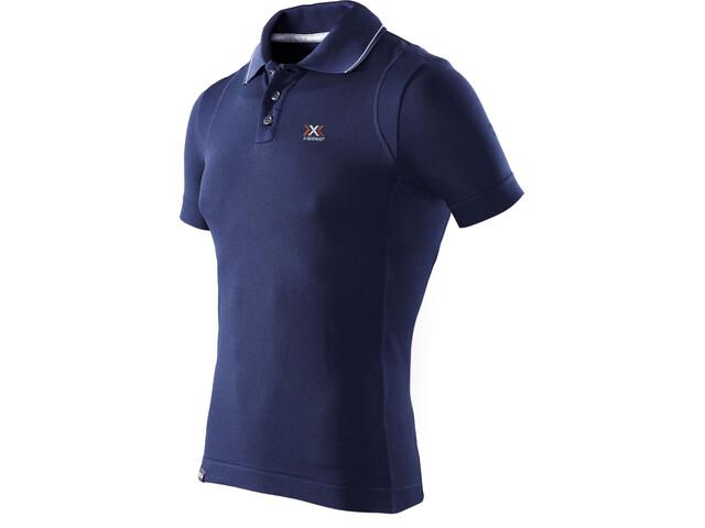 X-Bionic Travel Polo Shirt SS Herre blue marine